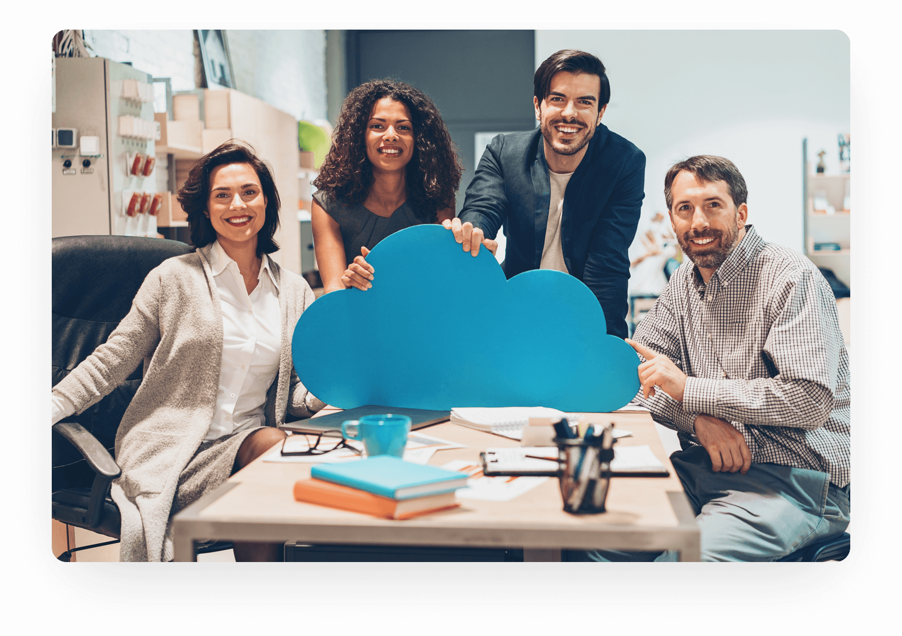 Clarity Connect integrates SaaS or cloud-based application