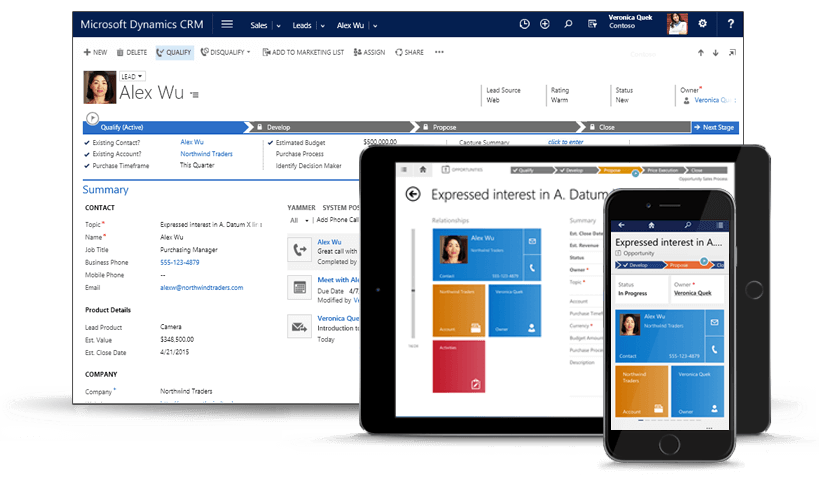 Integrate Your Website with Dynamics CRM | Clarity